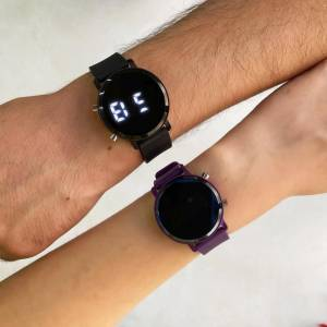 Black-Purple Couple