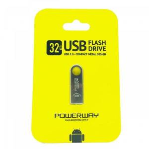 32 Gb Metal Usb Flash Bellek Powerway