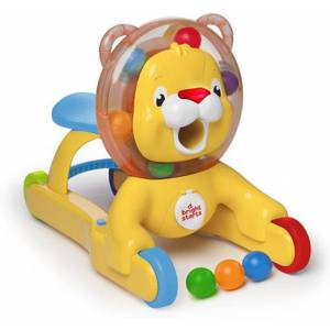 BRIGHT STARTS 3-in-1 Lion Step & Ride Toy