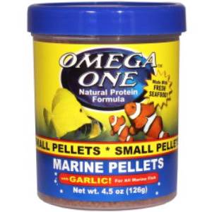 Omega One Garlic Marine Small Pellets 1360gr.