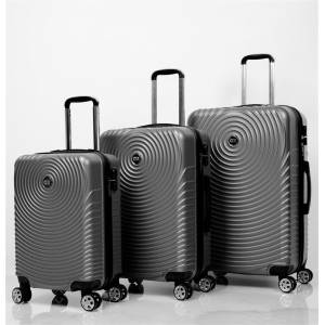 Ox Luggage 01030 Antrasit 3'Lü Set Abs Valiz