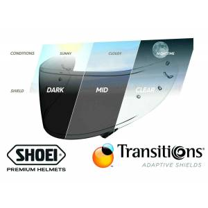 Shoei CWR-1PN Vizör Photochromic (NXR - X-Spirit 3)