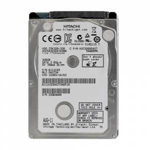 HDD 2.5 320GB HITACHI 400RPM 8MB SATA 3GB/S Z5K320-320 (RFB)