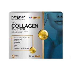 Day 2 Day The Collagen Beauty Fish 5000 mg 30 Saşe SKT 03 2023