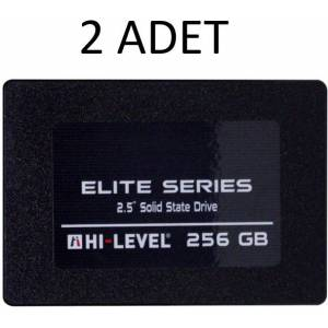 Hi-Level Elite 256GB 560MB-540MB/s Sata 3 2.5 SSD HLV-SSD30ELT/256G - 2 ADET