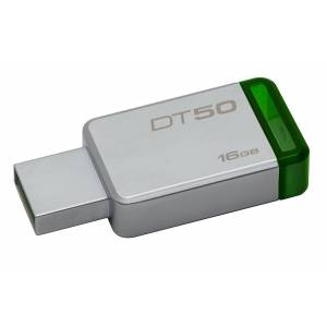 Kingston 16GB USB 3.1 3.0 Flash Bellek DT50/16GB