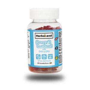 Herbaland Kids Omega 3 with DHA and EPA 30 Tablet
