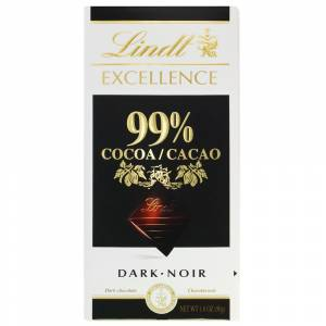 Lindt Excellence %99 Cocoa 50gr.