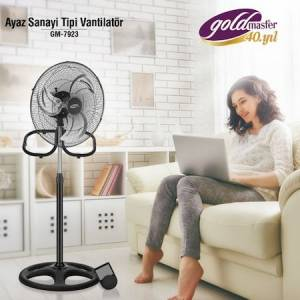 GOLDMASTER GM-7923 AYAZ 3in1  VANTİLATÖR