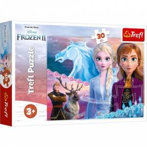 Trefl Puzzle Frozen II The Courage Of The Sisters 30 Parça Puzzle 18235