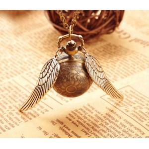 Harry Potter Snitch Kanat Saat Kolye ex-jjk85