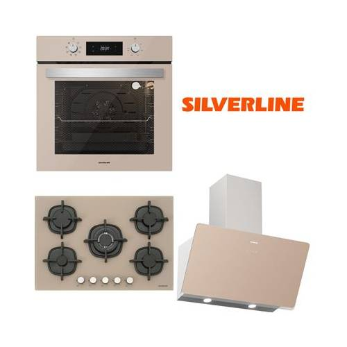 Silverline Vizon Cam Ankastre Set BO6504M01 - CS5364M01 - 3457 Soho 60 Cm