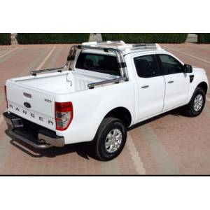 RANGER / FORD / 2012  Double Roll Bar Q70 Krom