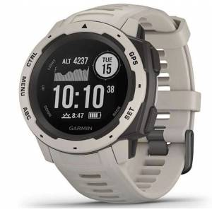 Garmin Instinct -Outdoor Watch with GPS Features GLONASS and Galileo - Heart Rate Monitoring TUNDRA