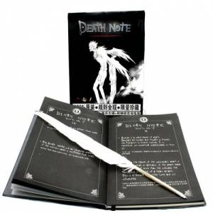 Death Note Cosplay Defter ve Tüy kalemi