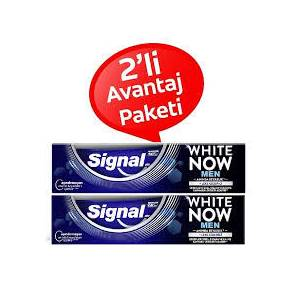 SİGNAL WHITE NOW MEN SUPERPURE 75ML DİŞ MACUNU X 2 ADET
