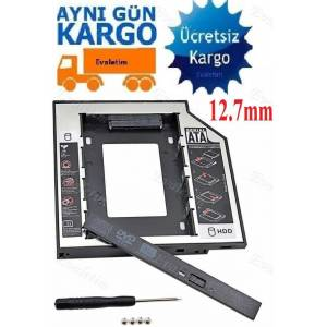 12.7mm HDD Caddy 4717p Notebook DVD to SSD Kutu Sata LAPTOP NOTEBOOK CD KIZAK EXTRA İKİNCİ HARDDISK