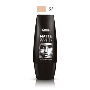 Quiz Kapatıcı Mat Fondöten - Matte Perfection Make-Up Foundation 01