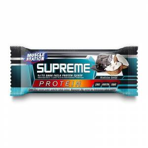 Muscle Station Supreme Protein Bar Dark Chocolate Coconut 40 Gr 1 Adet ÇİKOLATA-HİNDİSTAN CEVİZİ