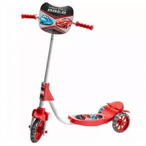 Scooter 3 Tekerlekli Frenli Cars 72 Cm