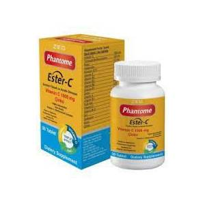 PHANTOME VITAMIN C 1000 MG 30 TB