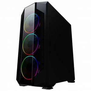 Turbox AHRI Gaming Oyuncu Usb 3.0 Kasa 4 Fan Rainbow Led