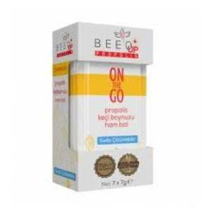 Bee'o Up Propolis On The Go Yetişkin (Propolis + Keçiboynuzu + Ham Bal) 7 x 7 gr - 12'li Paket