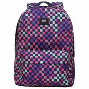 Vans Old Skool III Backpack Tıe Dye Check Okul Sırt Çantası Vn0A3I6Rykt1