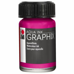 Marabu Aqua Ink 15 ml Magenta 39014