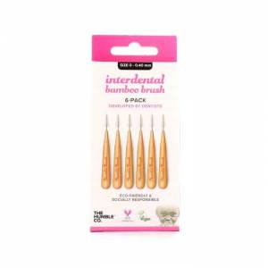 Humble Brush Interdental Banboo Brush 6 Adet Size 0