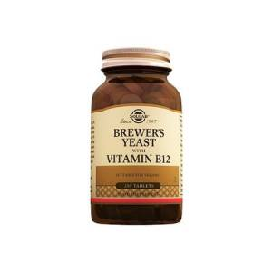 Solgar Brewer'S Yeast With Vitamin B12 250 Tablet Skt:02/23