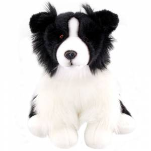 Animals Of The World Floppy Border Collie Peluş Oyuncak 40 cm