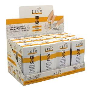 Beeo On The Go Propolis - Zerdeçal - Zencefil - Tarçın ve Ham Bal