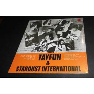 TAYFUN VE STARDUST INTERNATIONAL  33LÜK PLAK