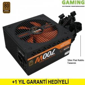 GAMETECH GTP-700 v2 700W 80 Plus Bronze 14cm Fanlı Power Supply Pc Güç Kaynağı