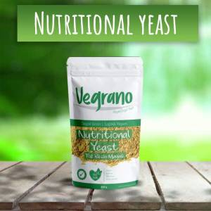 Vegrano Nutritional Yeast (Besin Mayası) 100 Gr