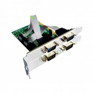 Pci RS232 Kart 4 Port Seri Com Moschip RS 232 Com Port RS232 Seri Bağlantı