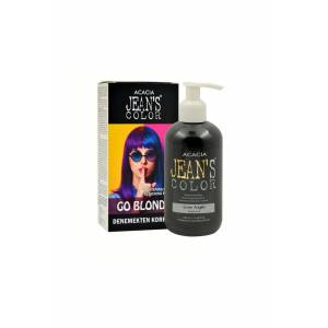 JEAN'S COLOR KOYU GRİ 250 ml. GRAY NIGHT + JEAN'S COLOR SAÇ AÇICI SETİ