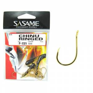 Sasame F-721 Chinu Ringed İğne (Gold)