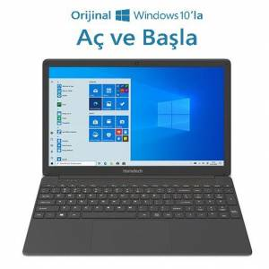 HomeTech Alfa 590S Intel Core i5 5257U 8GB 256GB SSD Windows 10 Home 15.6 Taşınabilir Bilgisayar