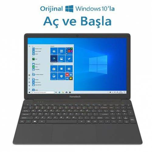 HomeTech Alfa 590S Intel Core i5 5257U 8GB 512GB SSD Windows 10 Home 15.6 Taşınabilir Bilgisayar