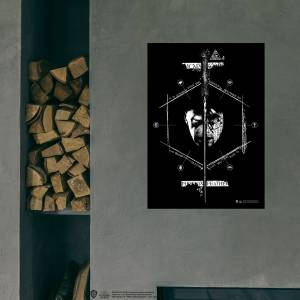 Warner Bros Harry Potter  Lord Voldemort vs Harry Potter  Phoenix Feather Poster 50x70 cm
