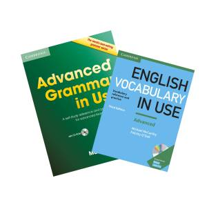 Advanced Grammar in Use + English Vocabulary in Use Advanced +2CD