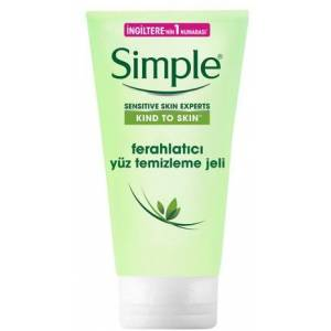 Simple Sensitive Skin Experts Ferahlatıcı Yüz Temizleme Jeli 150 ml