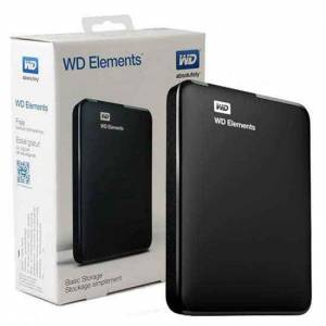 WD WDBUZG5000ABK-EESN Elements 500 GB 2.5 inc Usb 3.0 Taşınabilir Disk