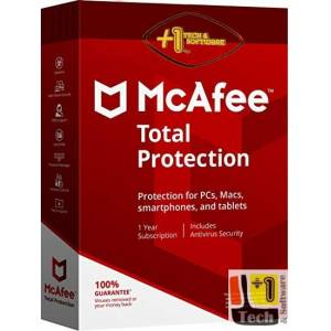 McAfee Total Protection 2021 - Unlimited Device 1 Yıl