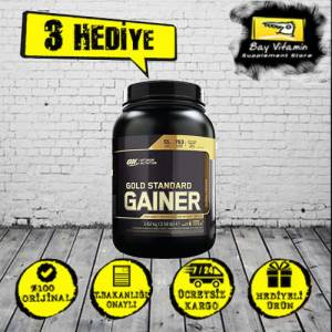 Optimum Gold Standart Gainer 1,62 KG ÇİLEK AROMALI