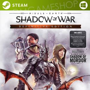 PC STEAM MIDDLE EARTH SHADOW OF WAR DEFINITIVE EDITION CD KEY