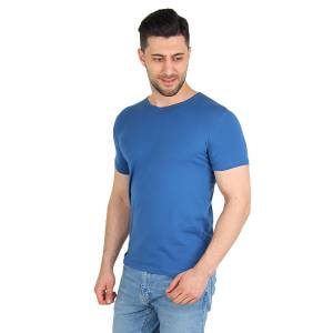 Darkking İndigo V Yaka Basic Erkek T-Shirt