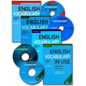 English Vocabulary in Use 4 LÜ SET with Answers + 4CD